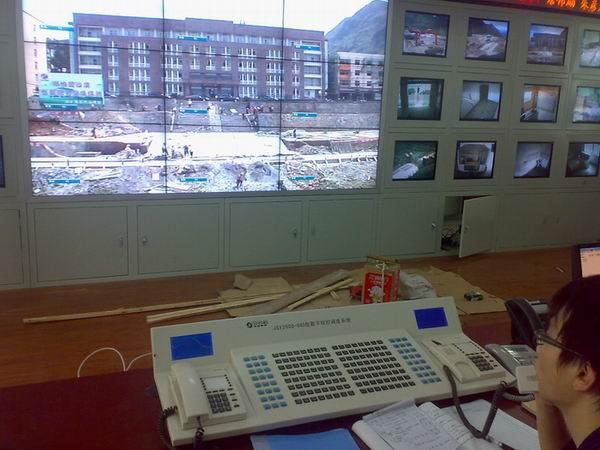 调度室综合调度平台图