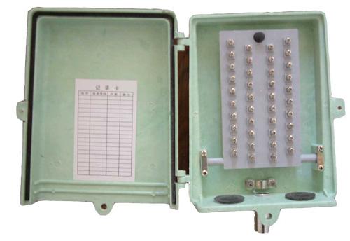 电缆分线盒 ,电话机接线盒等组成!