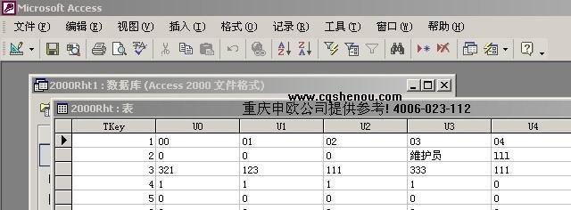 申瓯管理软件USO密码