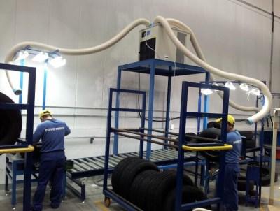 工业冷气机制冷效果