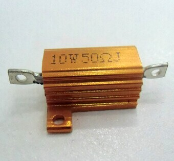 金黄色铝壳电阻