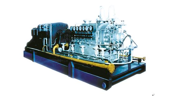 TD型双筒体多级化工流程泵