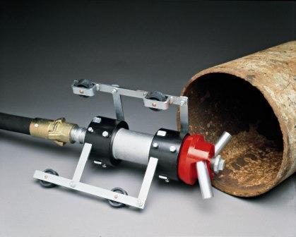 钢管喷砂处理设备
