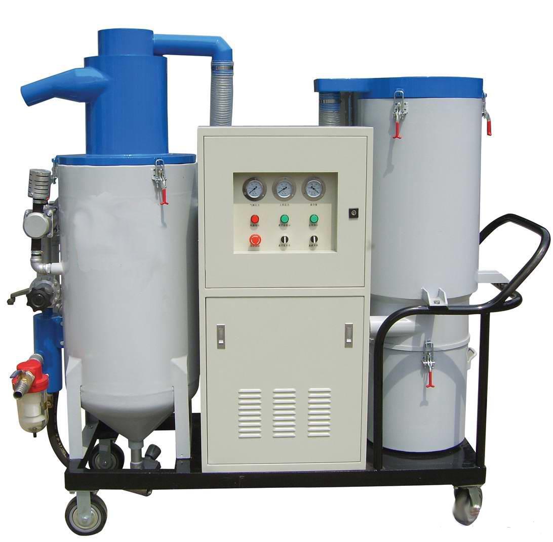移动式喷砂回收系统