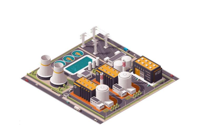 智慧电厂定位方案