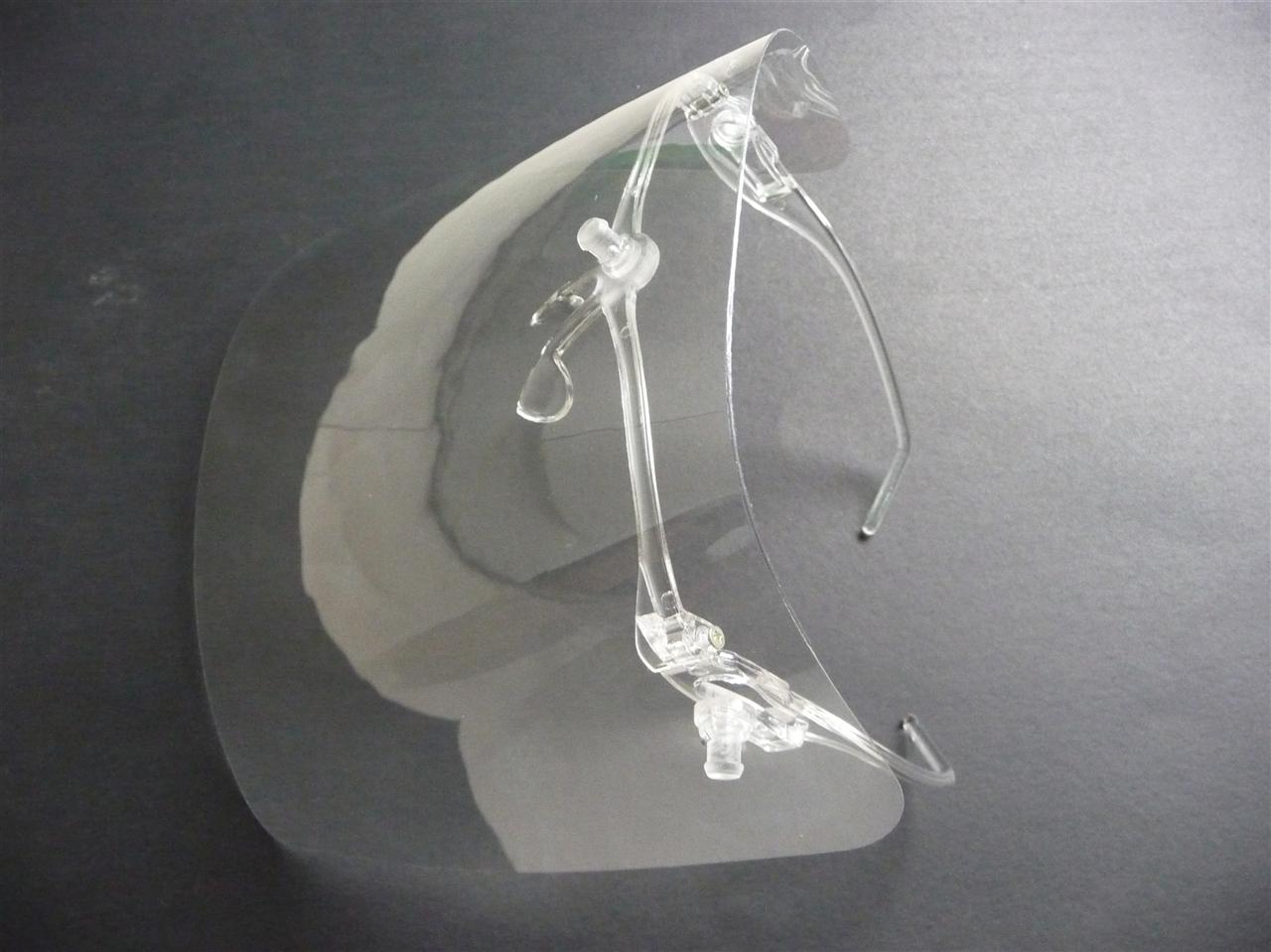 带镜架的防雾面罩
