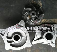 灰铁件冷焊修补