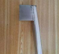 不锈钢门把手焊接