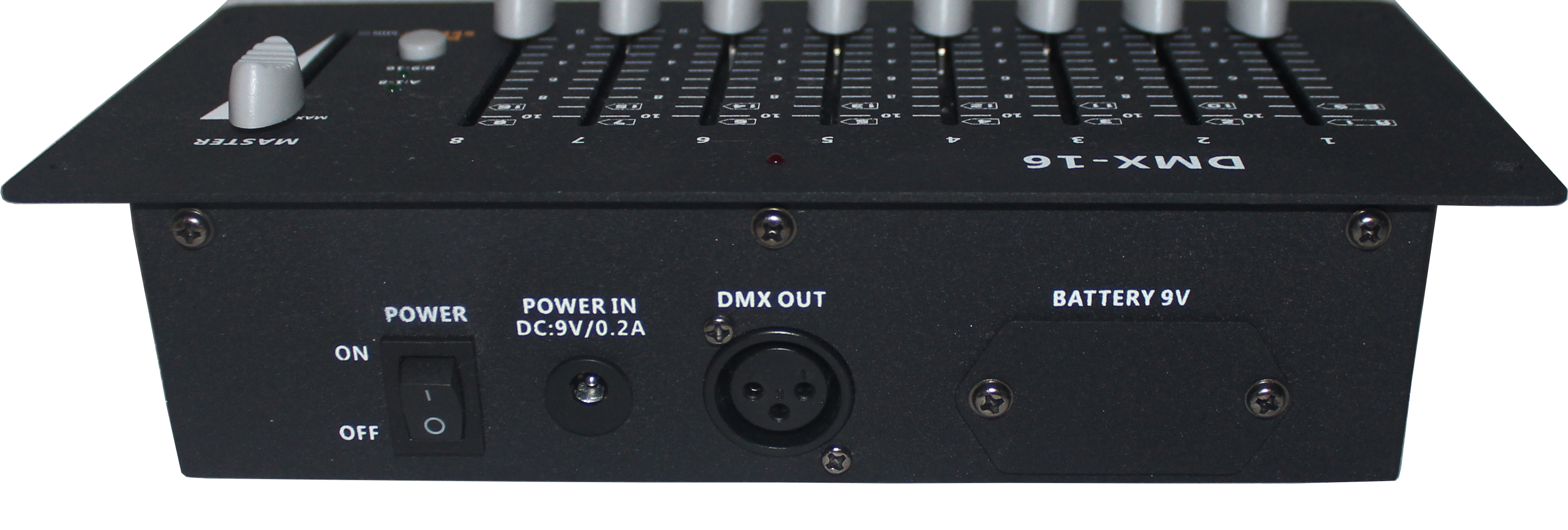 HD-138   8/16 Channels DMX controller