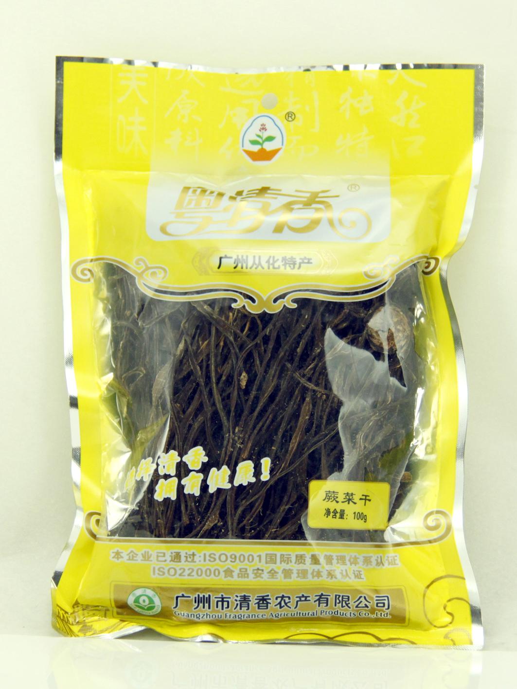 粤清香蕨菜干
