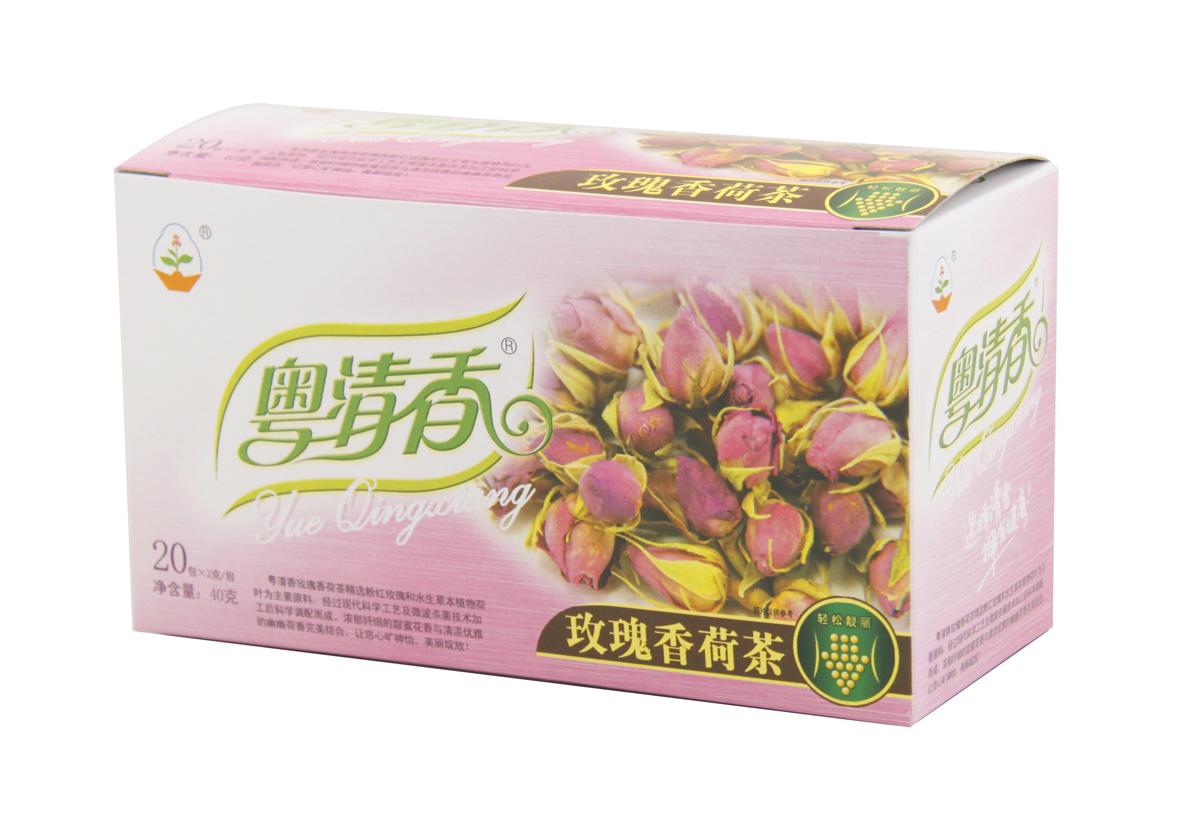 粤清香玫瑰香荷茶