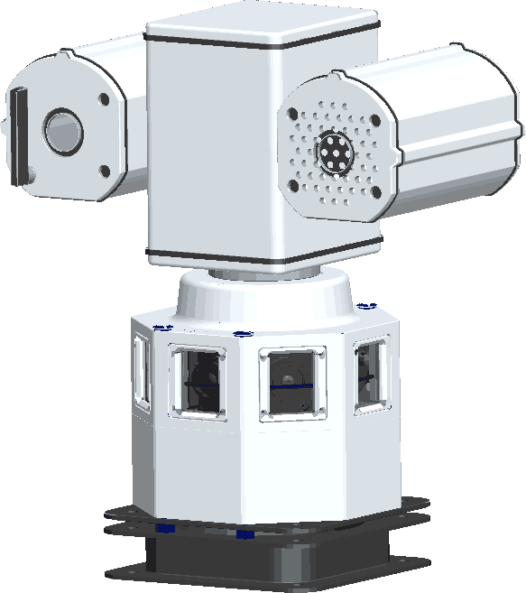 360度高清全景车载摄像机 PE-M-100