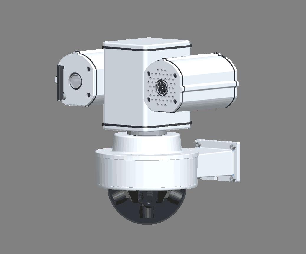 360度高清全景哨兵摄像机 PE-K-300