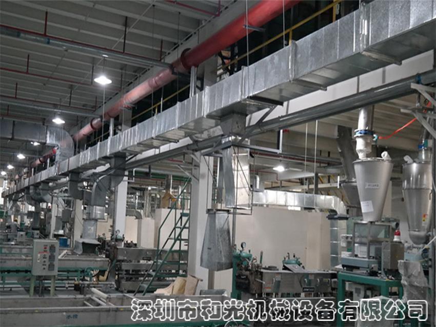 复合塑料及塑料合金产品生产设备的安装和迁移