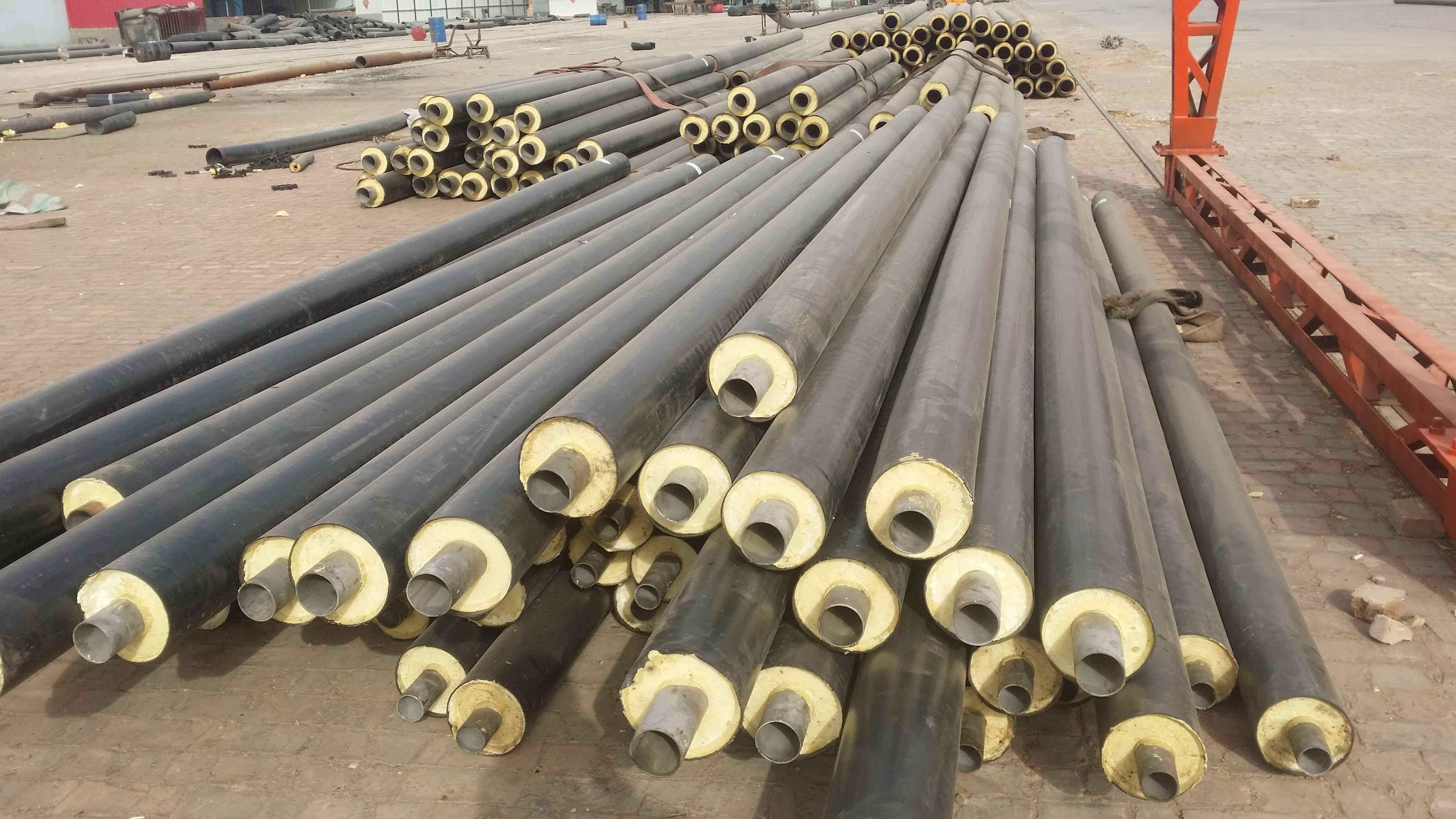 菏泽热力公司地热温泉水保温钢管案例