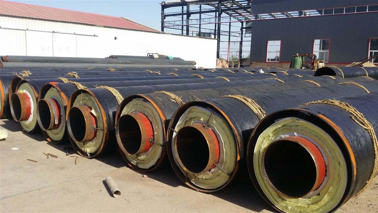 热力公司聚氨酯保温钢管城市小区供热案例