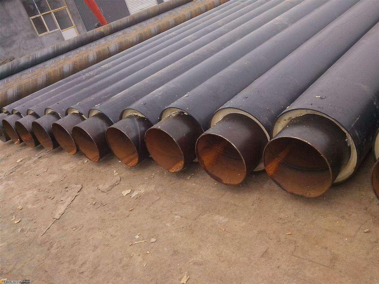 石油管道聚氨酯直埋保温管