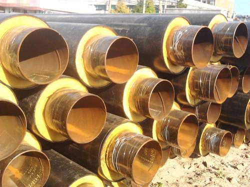 聚氨酯直埋供热保温钢管