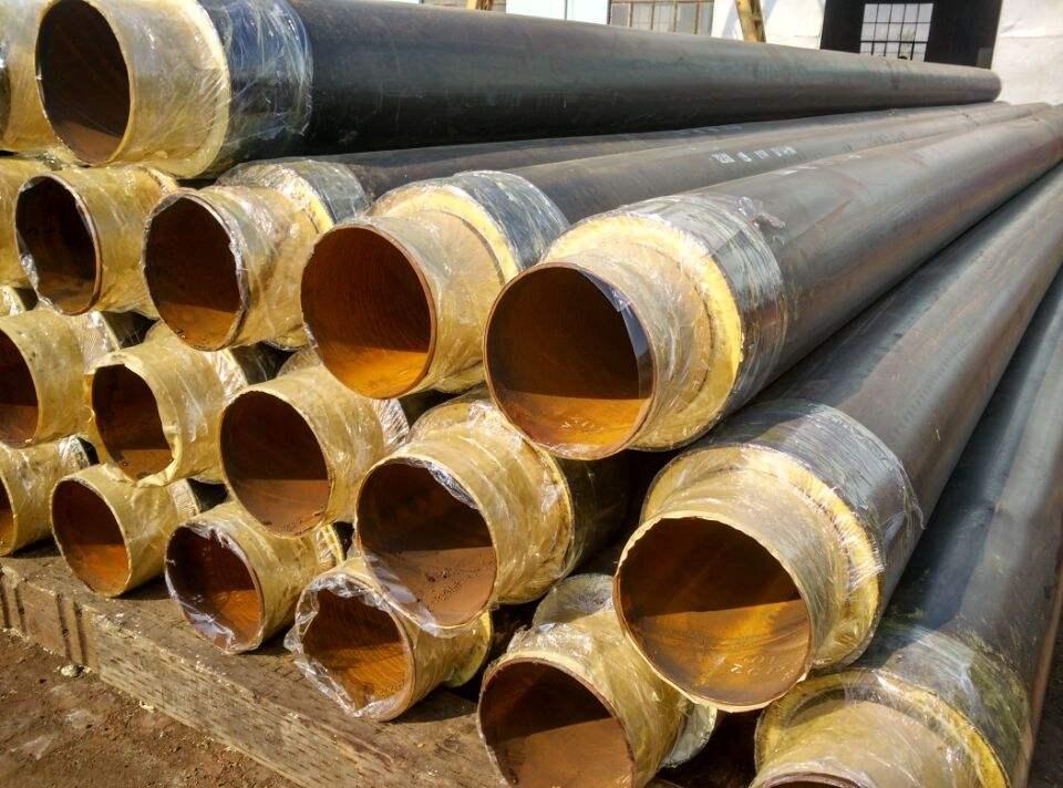 32耐高温热力管道聚氨酯直埋保温管-实力厂家直营
