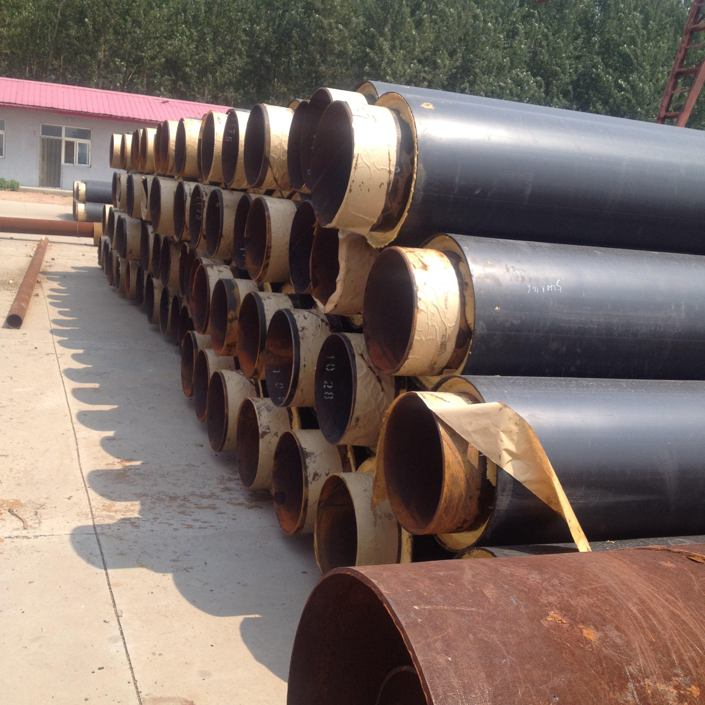 硬质螺旋聚氨酯直埋保温管-厂家现货批发