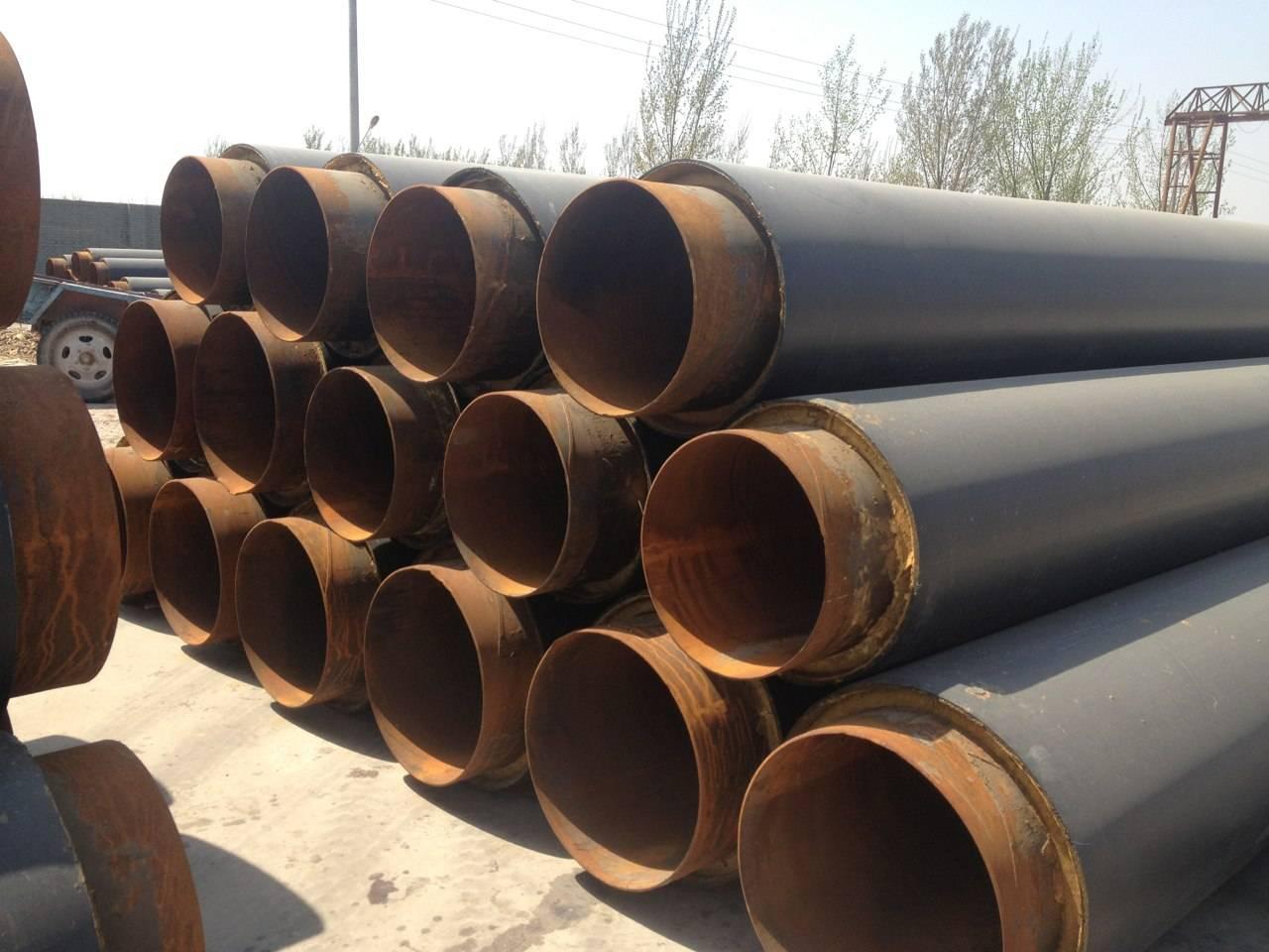 硬质预制聚氨酯直埋保温管-厂家现货直营