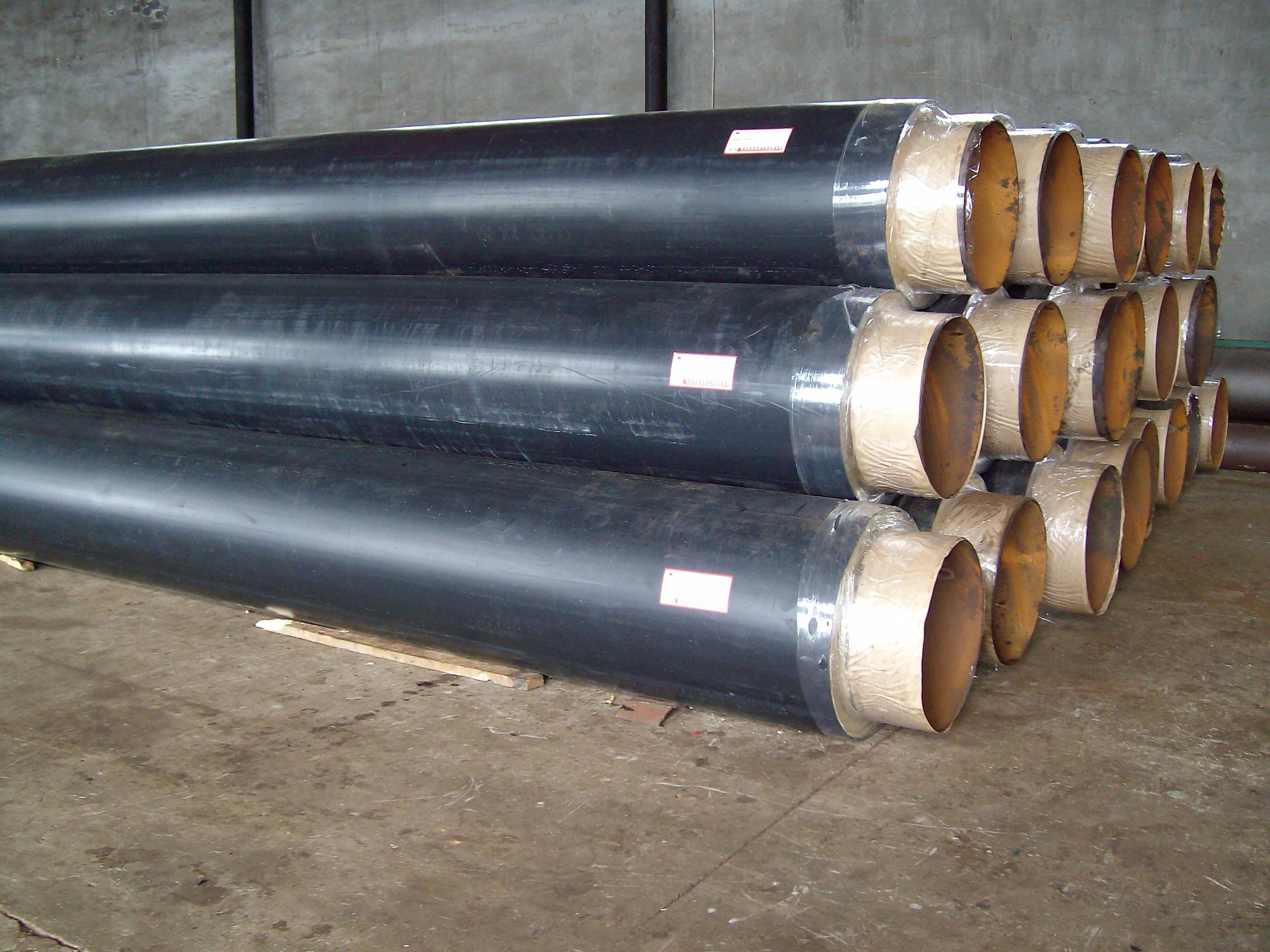 耐高温复合聚氨酯直埋保温管-厂家现货直销