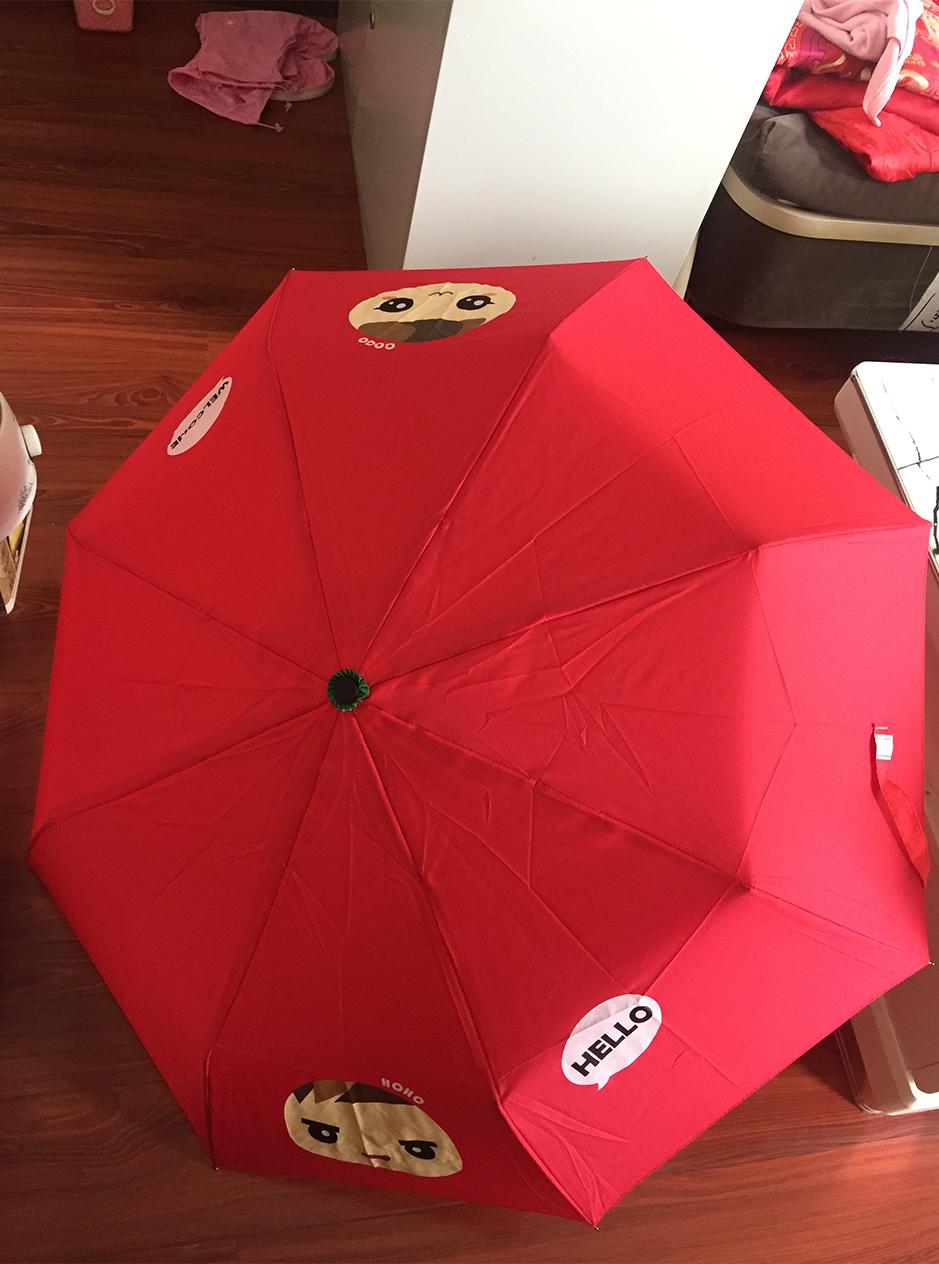西城時代定製雨傘2