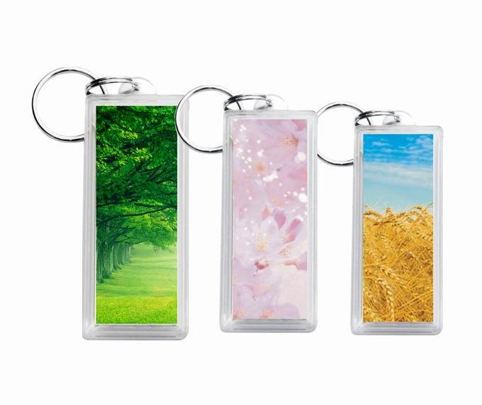 有机玻璃匙扣卡