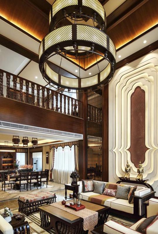 新中式别墅装修风格