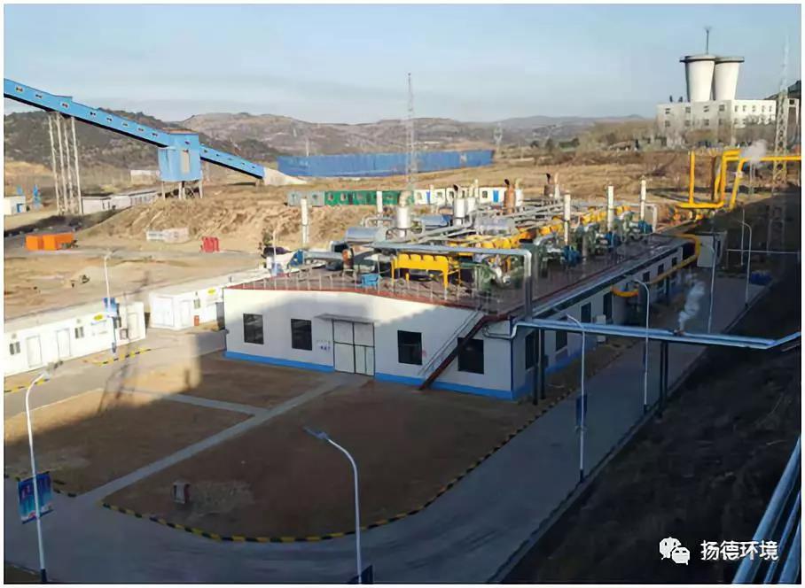 李阳瓦斯发电项目成功并网发电