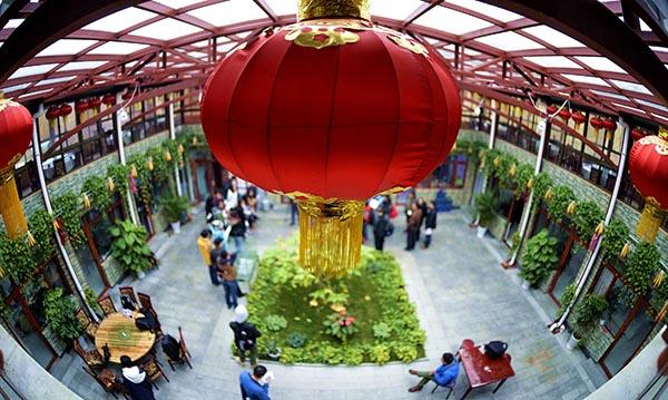 延庆县生态文明:农院变花园