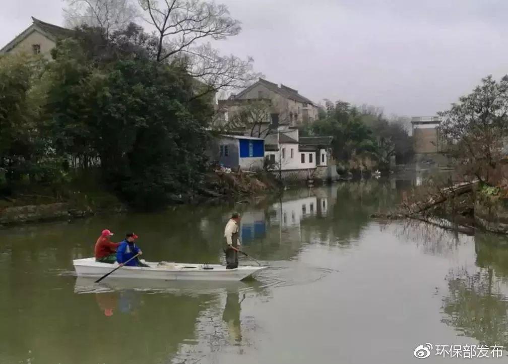 一图一故事 | 春节河道清洁不停歇