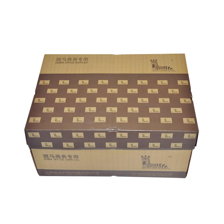 斑马(ZEBRA)复印纸8包箱