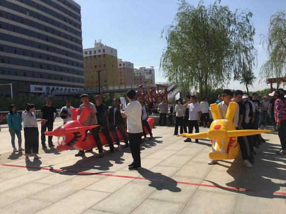 陕西榆林中燃天然气有限公司2019年职工趣味运动会 圆满举行