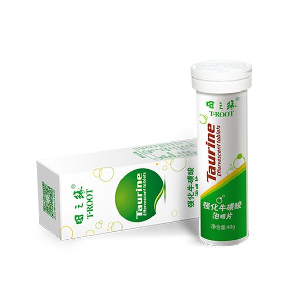 強化牛磺酸泡騰片