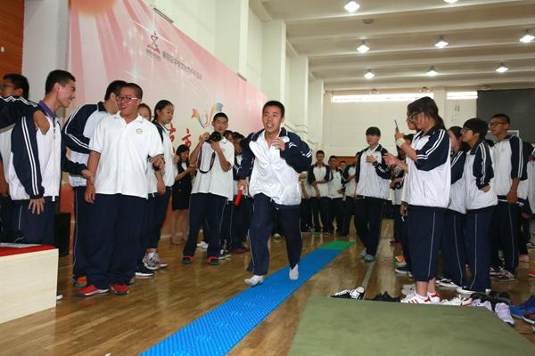 北京十七中学睁开第七届生理周运动