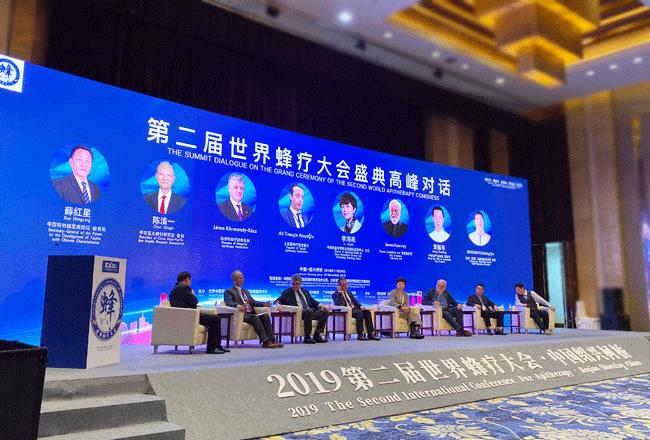 第二届世界蜂疗大会-高峰对话