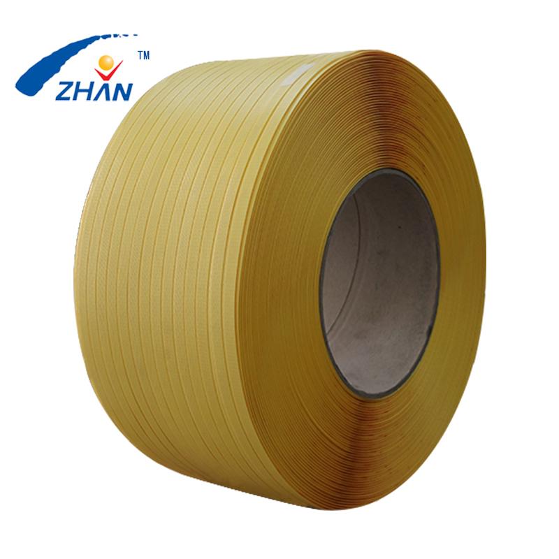黄色960半透明塑料捆扎带热熔机用带纸箱外包装带