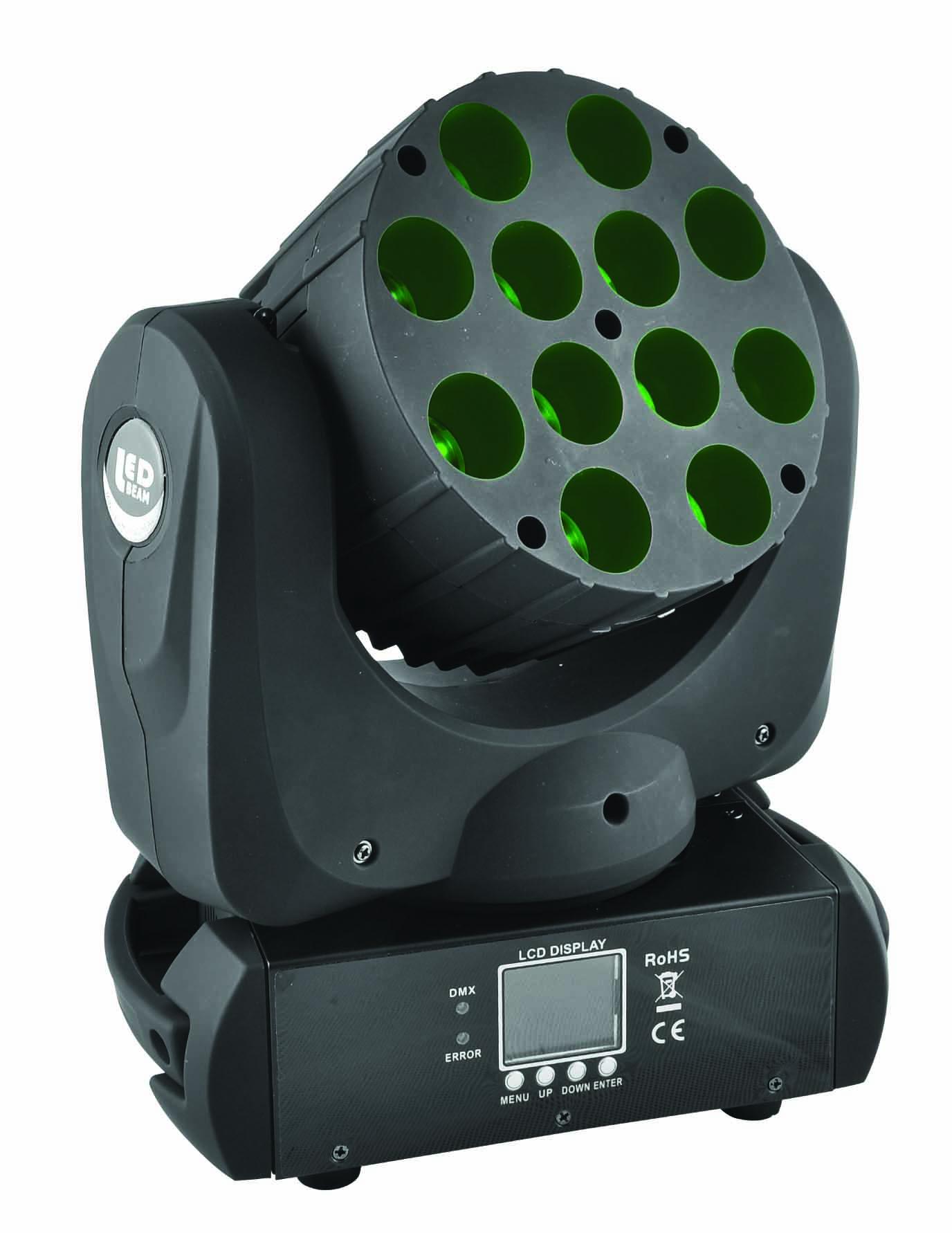 LED 12*10W 光束摇头灯
