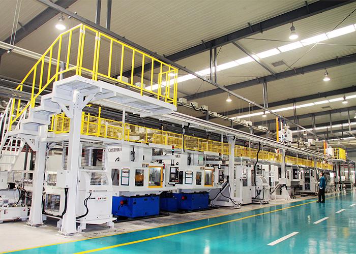 大齿公司副轴自动化生产线