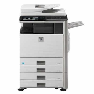 夏普复印机复印机MX-M283N复印+打印双面加网络打印网络彩色扫描