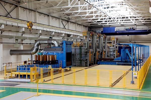 箱式炉调质自动生产线