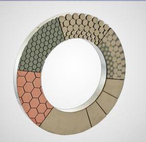 树脂结合剂超硬材料磨盘