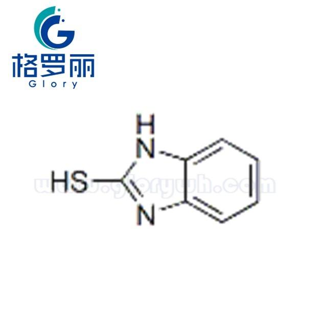 Picture of 防老剂(MB)/2-硫醇基苯骈咪唑/2-Mercaptobenzimidazole   CAS NO. 583-39-1
