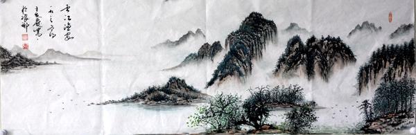 中国书画传千古琅琊王氏有新人