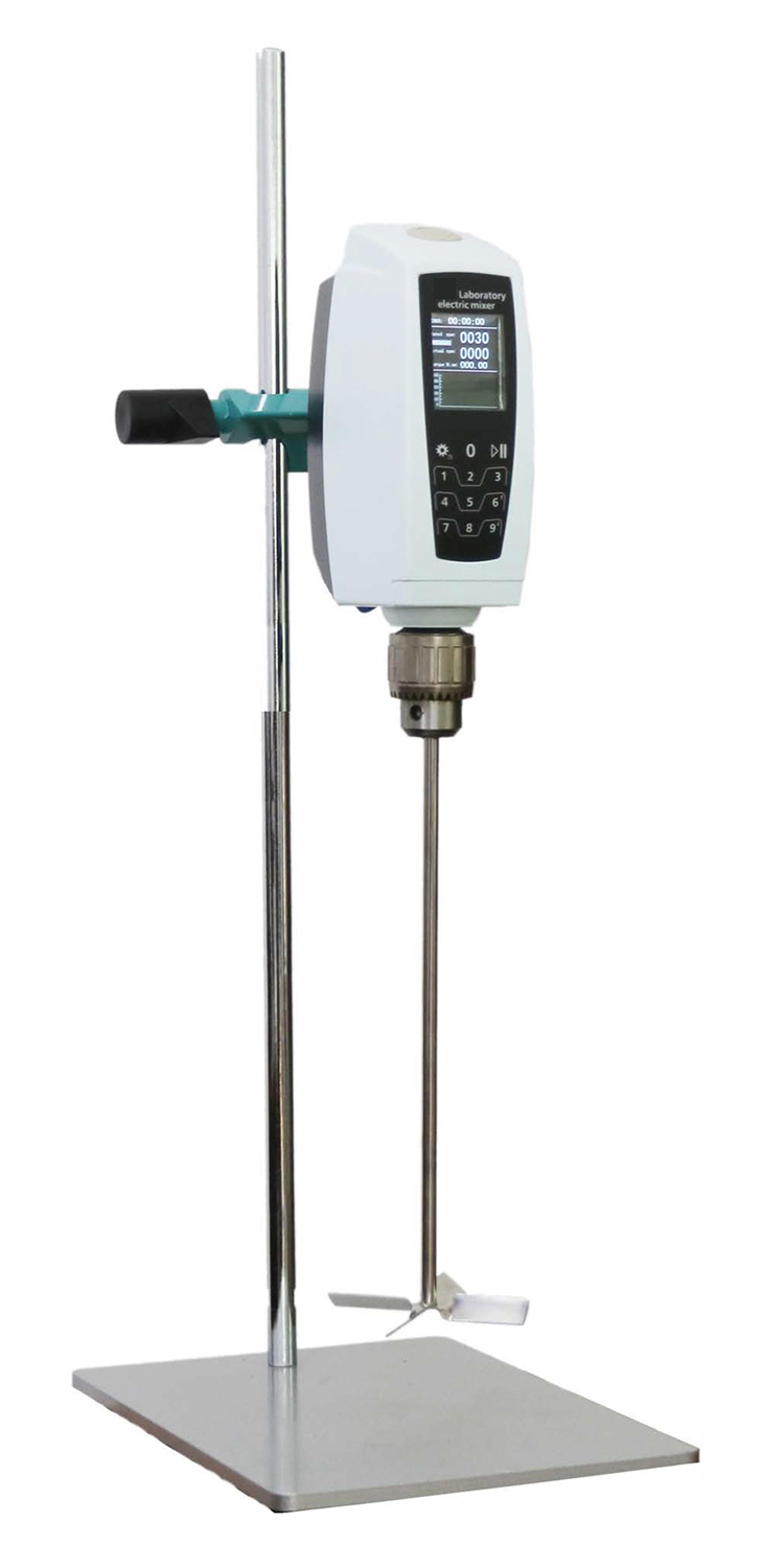 智能版触摸屏悬臂式搅拌器.扭矩显示搅拌器 欧之星YK400-PLUS