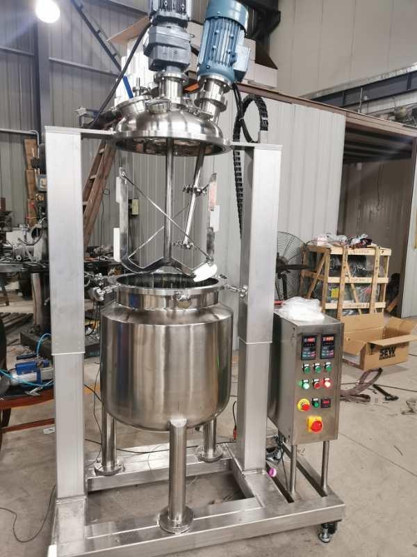 YK-100L真空搅拌乳化反应釜