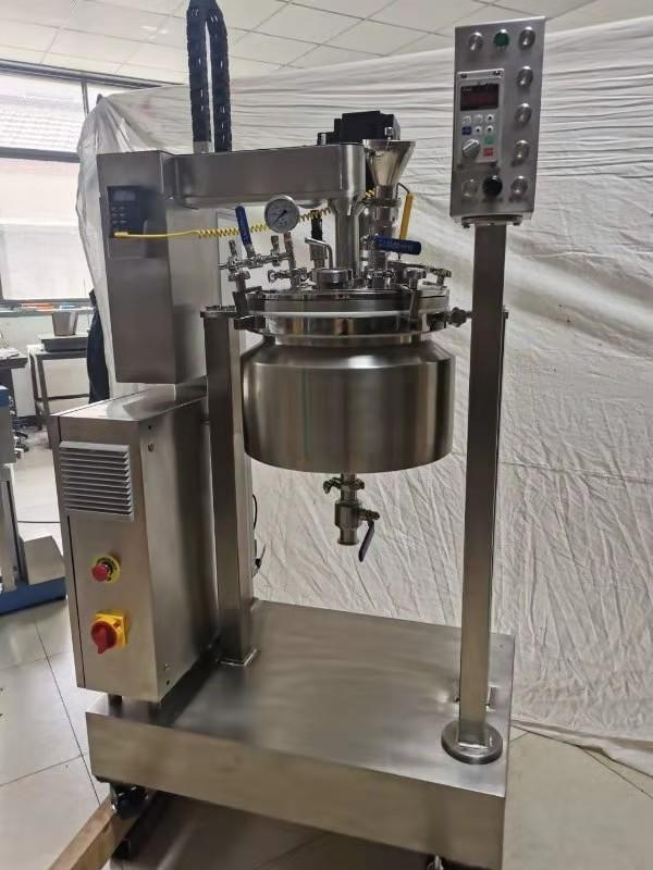 YK-15L实验室真空搅拌乳化反应釜
