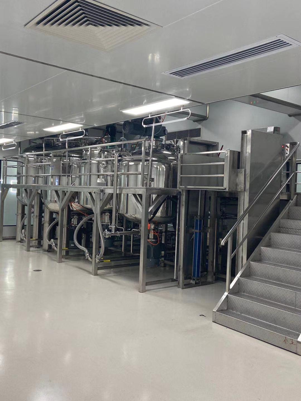 中控系列真空搅拌乳化反应系统,交钥匙工程流体力学设备