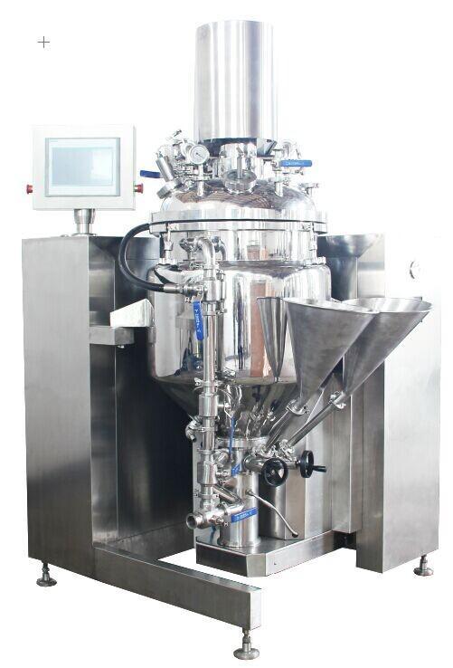真空均质乳化釜,生产型真空乳化均质反应釜